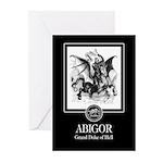 Abigor Greeting Cards (Pk of 10)