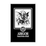 Abigor Mini Poster Print
