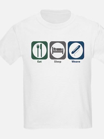 Eat Sleep Weave T-Shirt