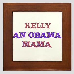 Kelly - An Obama Mama Framed Tile