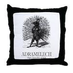 Adramelech Throw Pillow