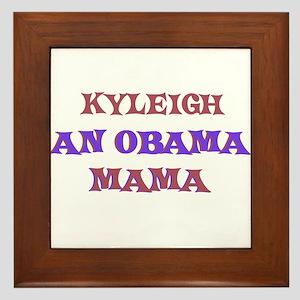 Kyleigh - An Obama Mama Framed Tile