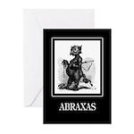 Abraxas Greeting Cards (Pk of 10)