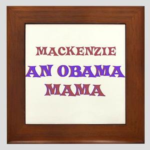 Mackenzie - An Obama Mama Framed Tile