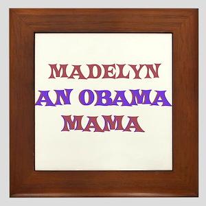 Madelyn - An Obama Mama Framed Tile
