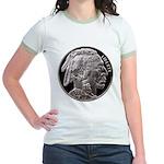 Silver Indian Head Jr. Ringer T-Shirt