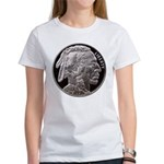 Silver Indian Head Women's T-Shirt
