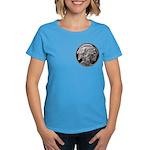 Silver Indian Head Women's Dark T-Shirt