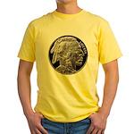 Silver Indian Head Yellow T-Shirt