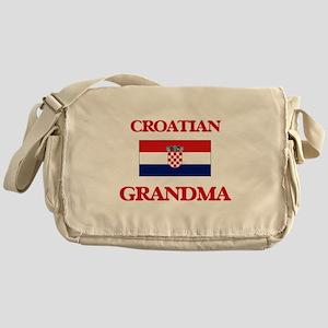 Croatian Grandma Messenger Bag