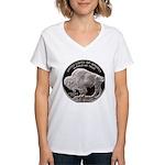 Silver Buffalo Women's V-Neck T-Shirt