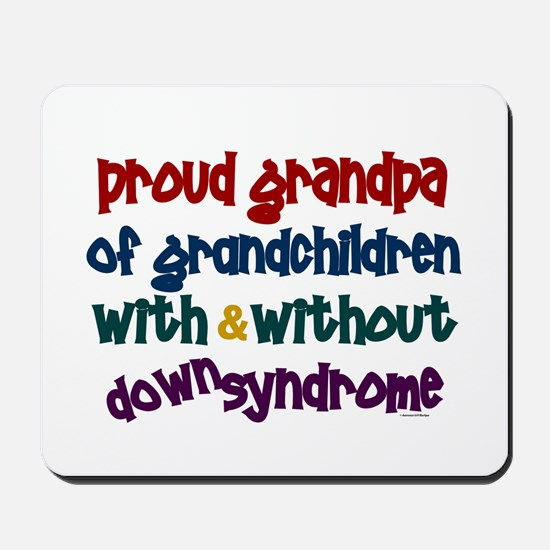 Proud Grandpa....2 (With & Without DS) Mousepad