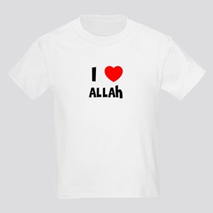 I LOVE ALLAH Kids T-Shirt