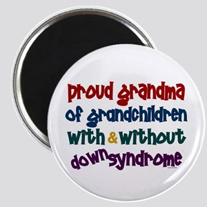 Proud Grandma....2 (With & Without DS) Magnet