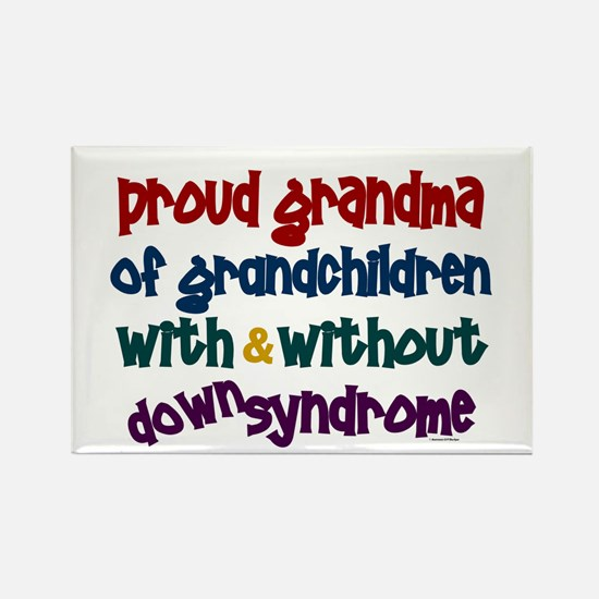 Proud Grandma....2 (With & Without DS) Rectangle M
