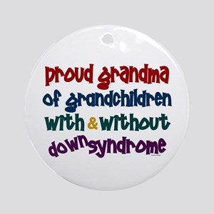 Proud Grandma....2 (With & Without DS) Ornament (R