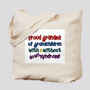 Proud Grandma....2 (With & Without DS) Tote Bag