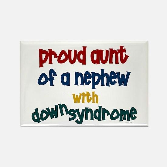 Proud Aunt....2 (Nephew DS) Rectangle Magnet (100