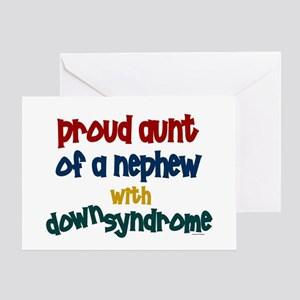 Proud Aunt....2 (Nephew DS) Greeting Card
