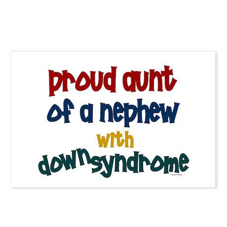 Proud Aunt....2 (Nephew DS) Postcards (Package of