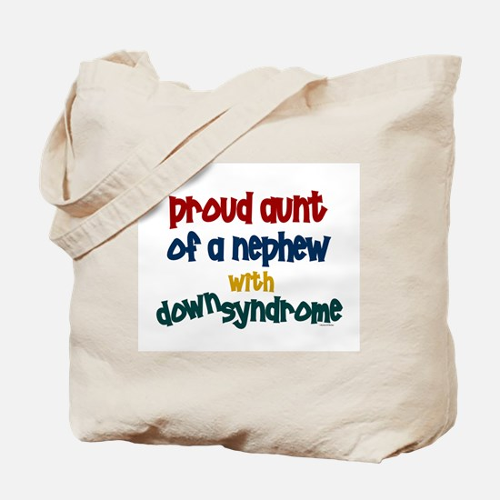 Proud Aunt....2 (Nephew DS) Tote Bag