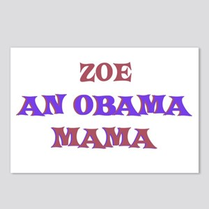 Zoe - An Obama Mama Postcards (Package of 8)