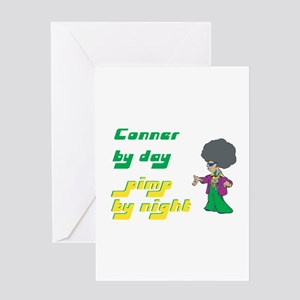 Conner - Pimp By Night Greeting Card