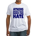 No Hate Athens (Fitted T-Shirt)