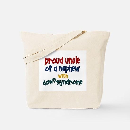 Proud Uncle....2 (Nephew DS) Tote Bag