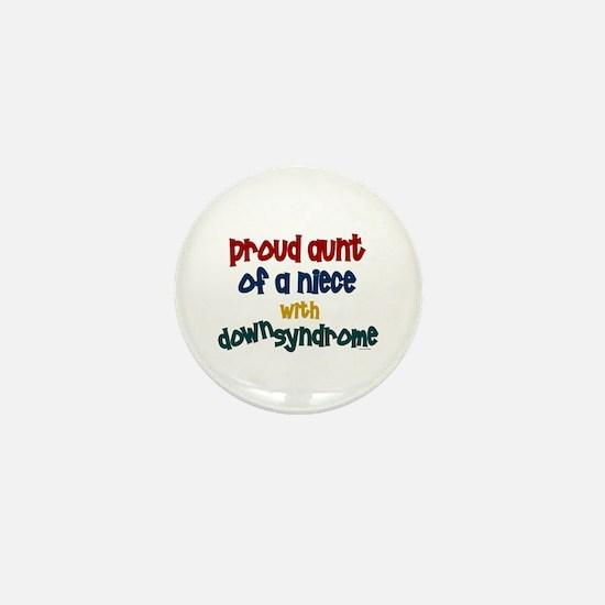 Proud Aunt....2 (Niece DS) Mini Button