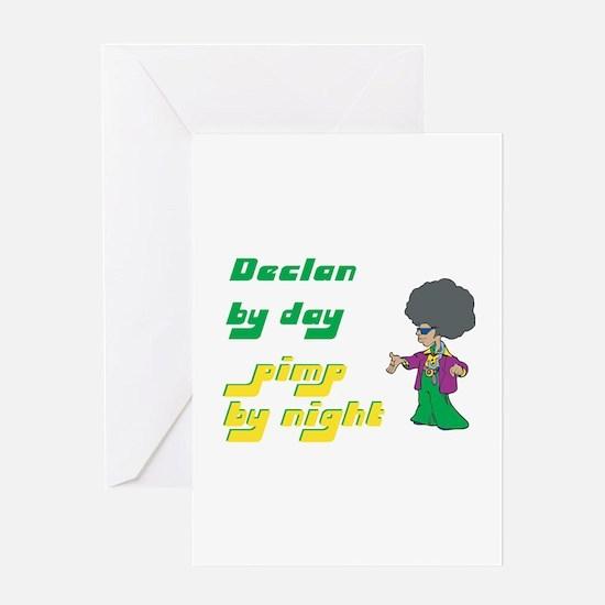 Declan - Pimp By Night Greeting Card