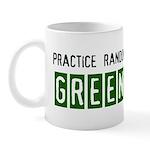 Random acts of Greenness Mug