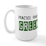 Random acts of Greenness Large Mug