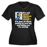 Al Gore climate change Women's Plus Size V-Neck Da