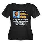Al Gore climate change Women's Plus Size Scoop Nec