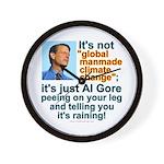 Al Gore climate change Wall Clock