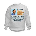 Al Gore climate change Kids Sweatshirt