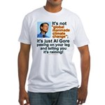 Al Gore climate change Fitted T-Shirt