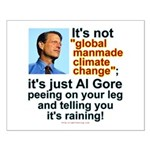 Al Gore climate change Small Poster