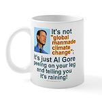 Al Gore climate change Mug