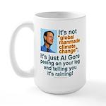 Al Gore climate change Large Mug