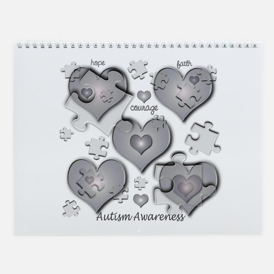 The Missing Piece Is Love Wall Calendar