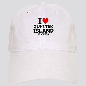 I Love Jupiter Island, Florida Baseball Cap