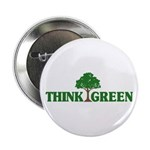 "Think Green 2.25"" Button (100 pack)"