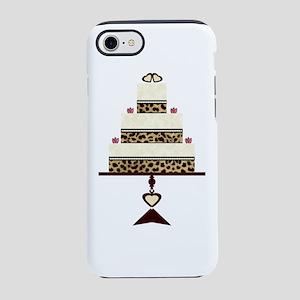 Leopard Print Bridal Cake iPhone 8/7 Tough Case