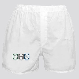 Eat Sleep Theater Boxer Shorts