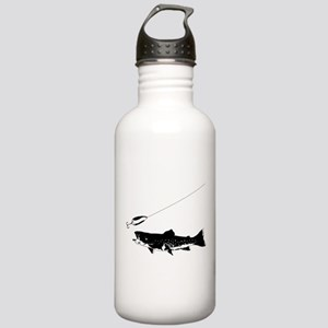 Black Trout Stainless Water Bottle 1.0L
