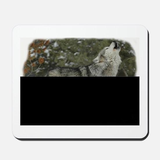 Woof Watcher Mousepad