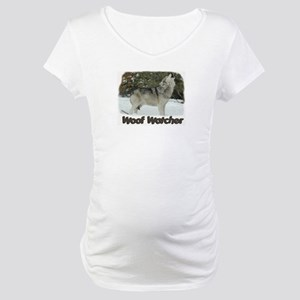 Woof Watcher Maternity T-Shirt