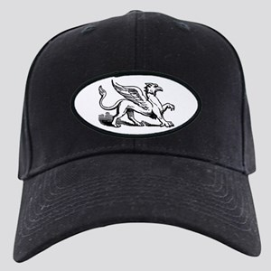 Griffin Illustration Black Cap